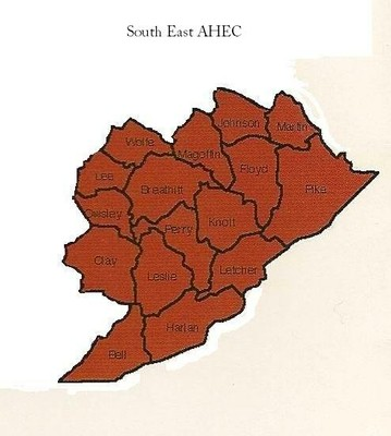 SouthEast AHEC Counties