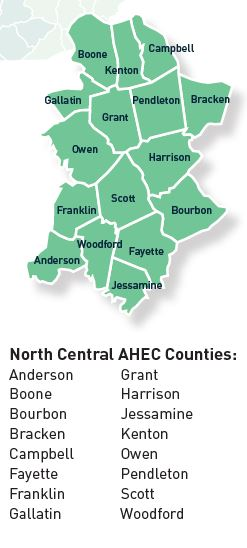 NC AHEC Counties