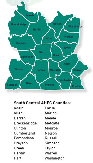SC AHEC counties