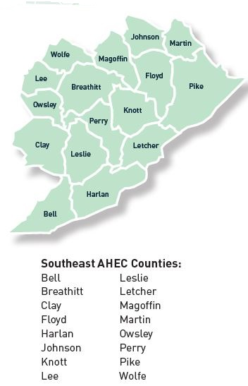 SE AHEC counties