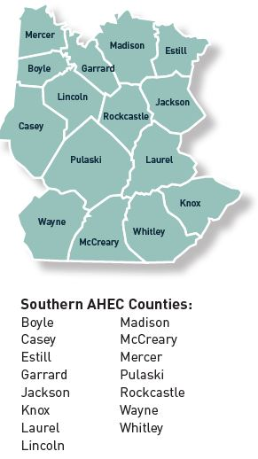 Southern AHEC counties