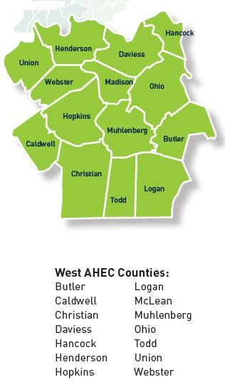 West AHEC counties