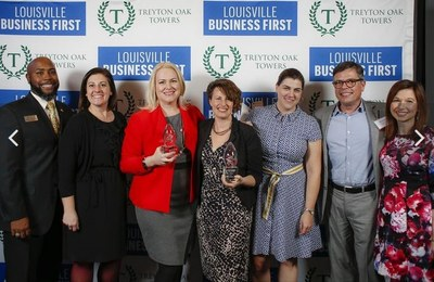 Business First award presentation