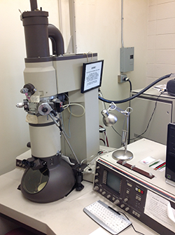 TEM microscope Phillips CM12