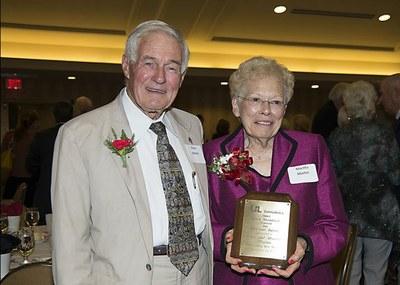 Elmo & Martha Martin - Couples Award Winners, 2013