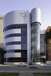 Exterior of Cardiovascular Innovation Institute