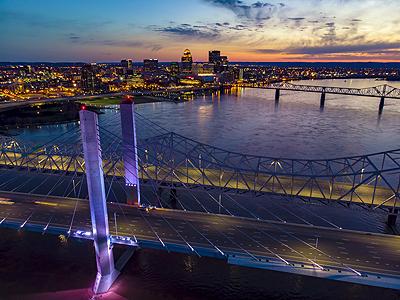Downtown Louisville skyline