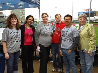 CF team at Cystic Fibrosis walk