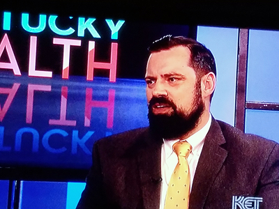 Matthew Cave on 'Kentucky Health'