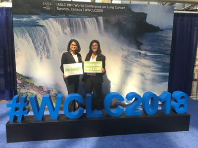 19th World Conference on Lung Cancer in Toronto Fellows - Shruti