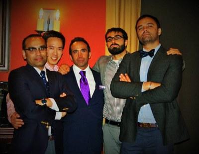 Fellows in order - Hamza, Danh, Amir, Rahul, Amitoj