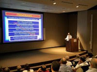 Dr. Julio Ramirez Presents at Department of Medicine Grand Rounds