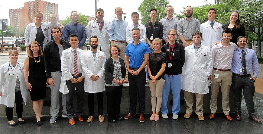 2018 UofL Internal Medicine Resident graduates