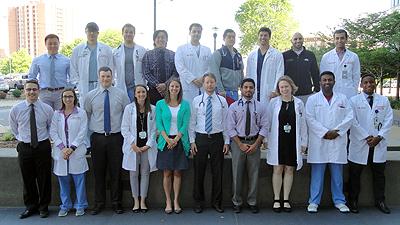 2016 graduating residents