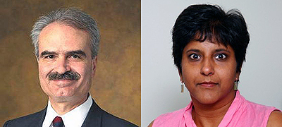 Bolli, Ouseph honored at 2014 Doctors' Ball