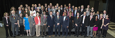 Department faculty honored at 2014 Celebration of Faculty Excellence