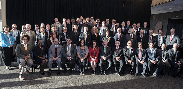 Department faculty honored at 2015 Celebration of Faculty Excellence