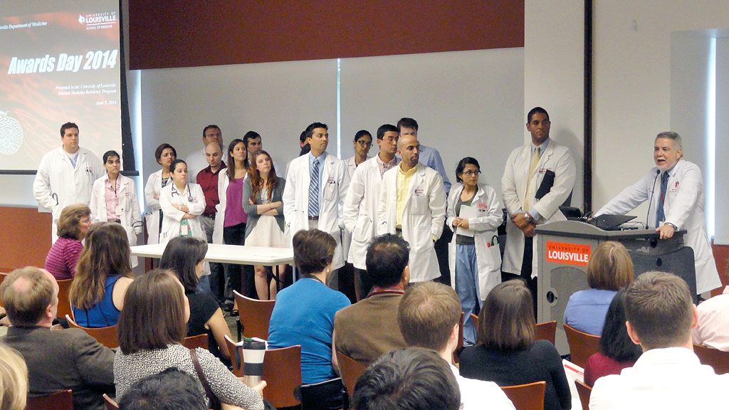 Fellowship match a success again for UofL residents