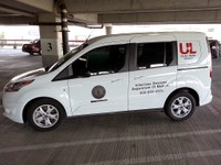 New van helps Global Health Initiative outreach efforts