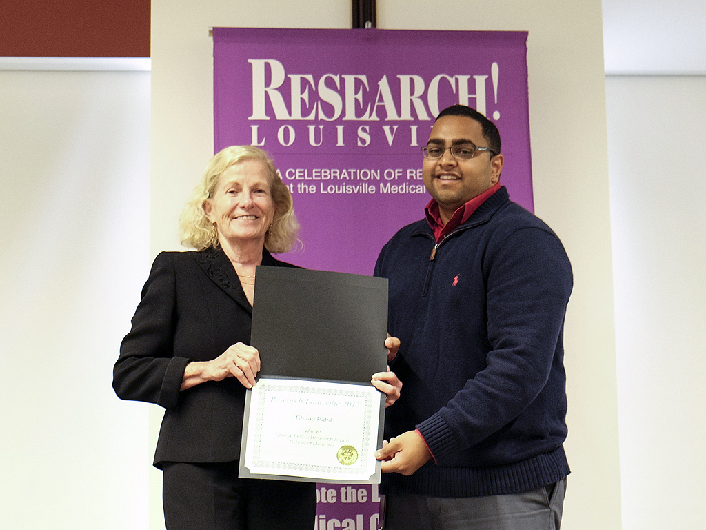 Department members do well at 2015 Research!Louisville
