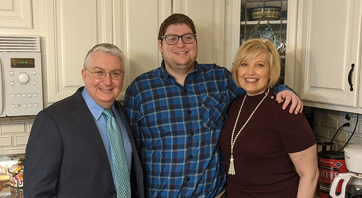 When families hear that UofL's Greg Barnes has a son with autism, the relief and connection of shared experience is immediate