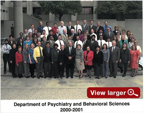 Department Picture 2000-2001