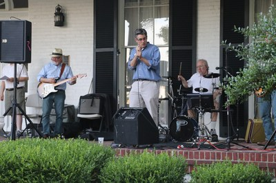 2019 Department of Psychiatry Annual Picnic Band Performing