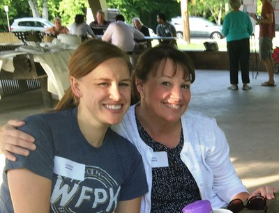APRN, Lindsay Heister and Office Manager, Tina Beard