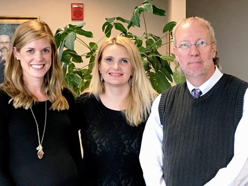 Associate Program Director, Jessica Reis, M.D., Program Coordinator, Christy Castle-Greenwell, and Program Director, Robert Caudill, M.D.