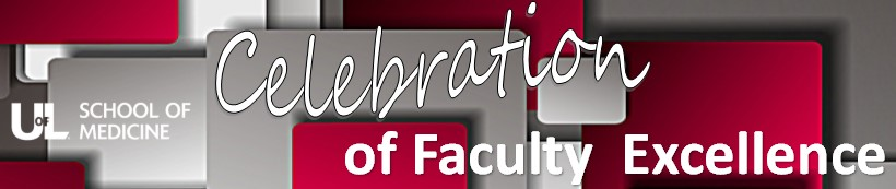 Celebration of SOM Faculty Excellence banner