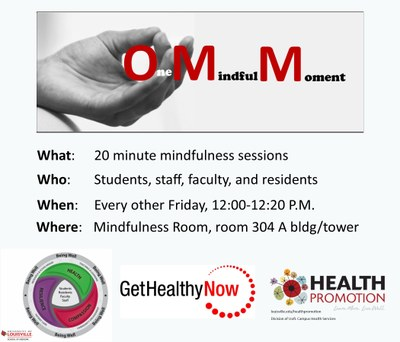 Mindfulness sessions info.Last updated 5-10-2017