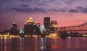 Louisville, KY city scape