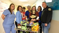 A special Halloween treat for NICU families