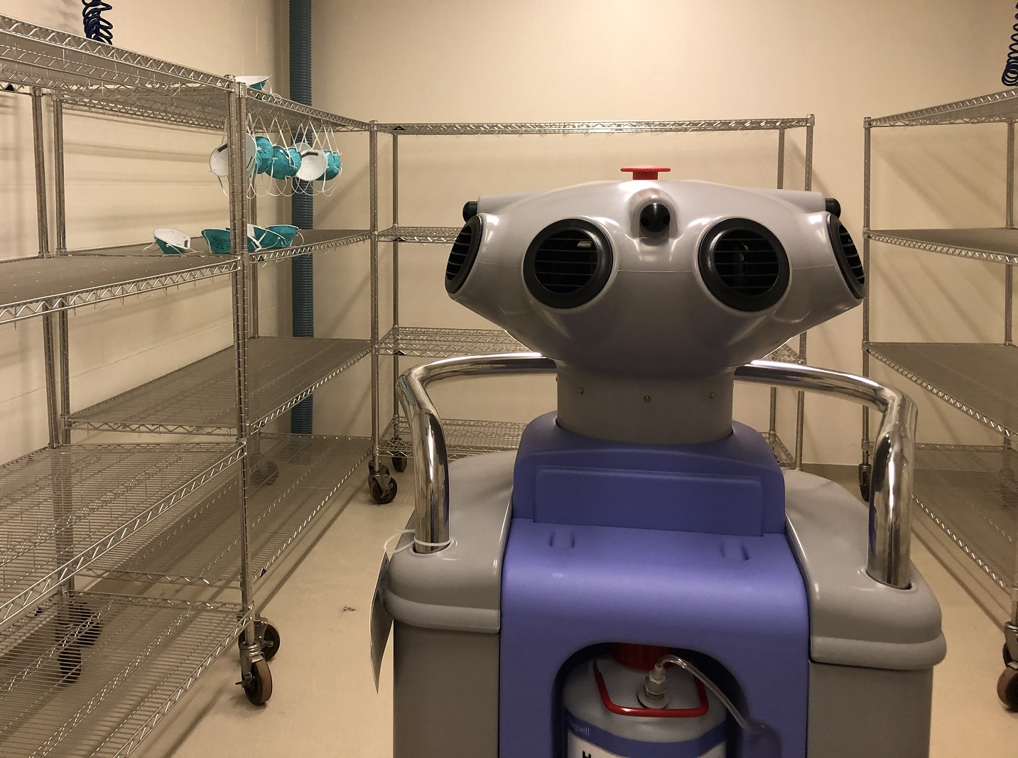 Decontamination program begins at UofL to alleviate mask shortage for area health care workers