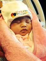 First Louisville baby born in 2014 delivered at Center for Women & Infants