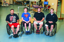 Four paraplegic men voluntarily move their legs, an 'unprecedented breakthrough' for paralysis community