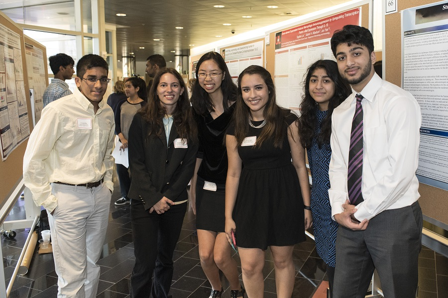 High school students do summer right with medical research internships at UofL