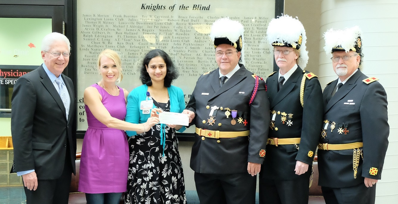 Knights Templar Eye Foundation, Inc., grant supports UofL research for improved retinoblastoma treatment