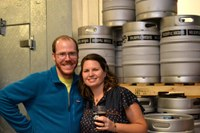 Owners of Holsopple Brewing talk beer at Beer with a Scientist Feb. 26