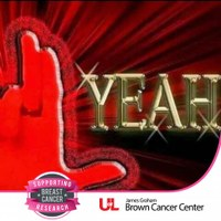 Show support for breast cancer research with the James Graham Brown Cancer Center Facebook frame