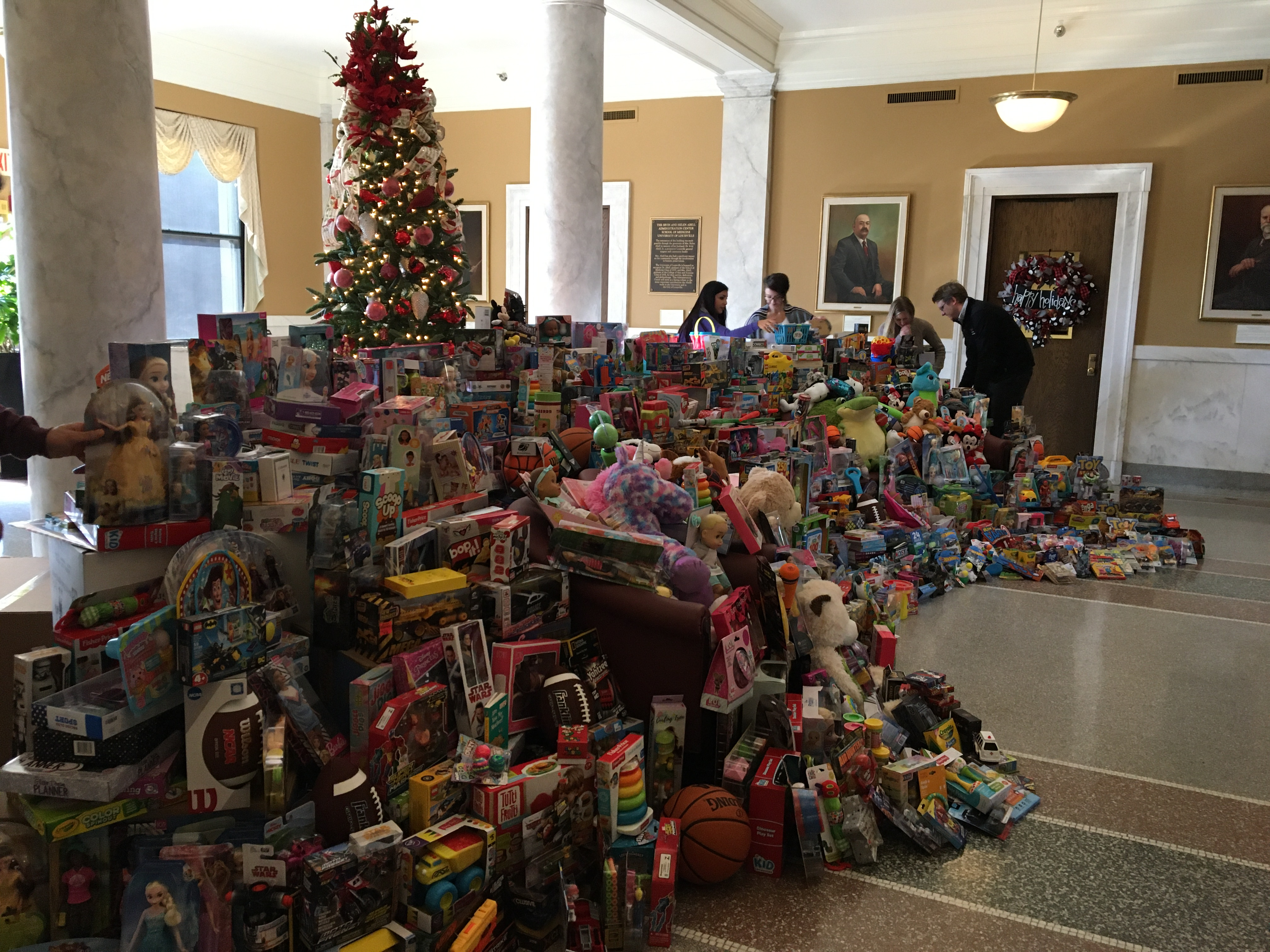 UofL medical residents collect toys for area children
