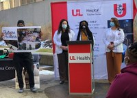 UofL medical students encourage youth affected by violence to become future healers