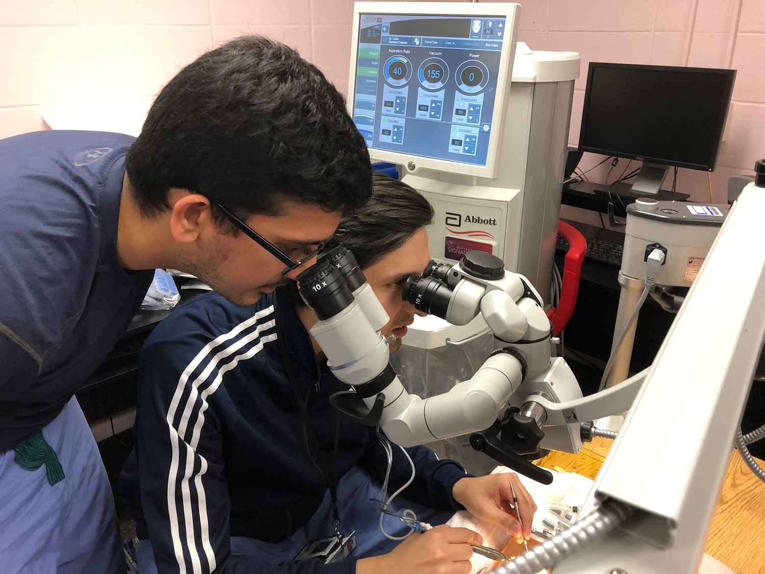 UofL ophthalmology residents certified earlier in training for advanced laser eye surgery