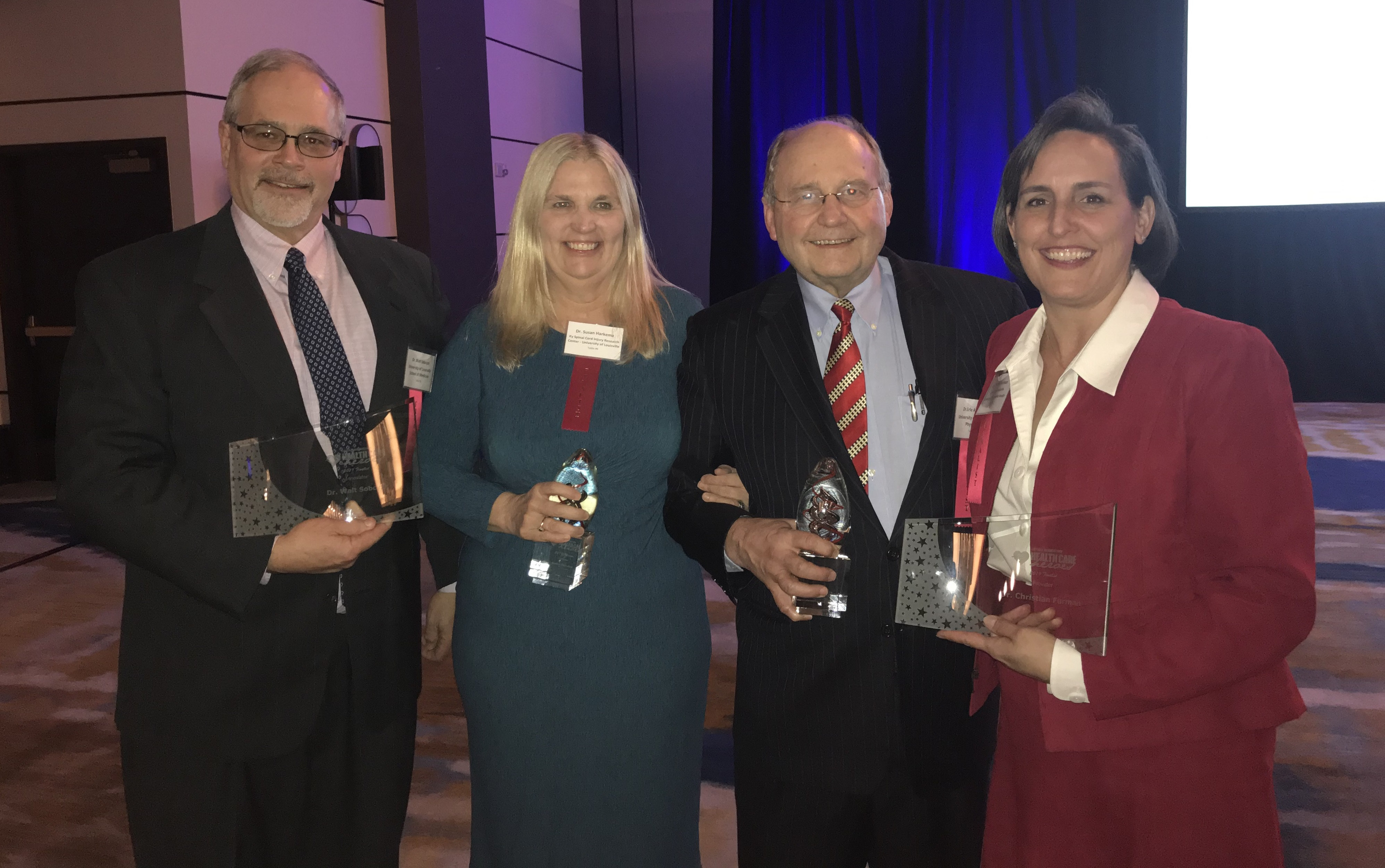 UofL researchers and doctors recognized as Health Care Heroes