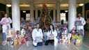 UofL School of Medicine collects 570 toys for Toys for Tots