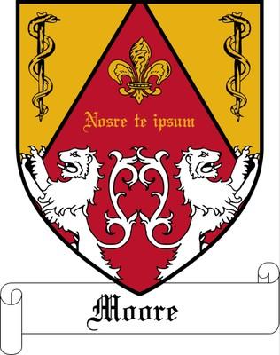 Moore College Crest