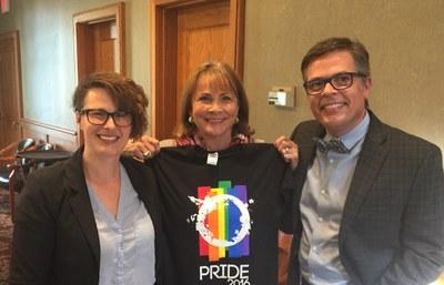LGBT Ally Award winner: Dean Ganzel