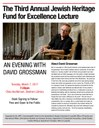 The Third Annual Jewish Heritage Fund for Excellence Lecture