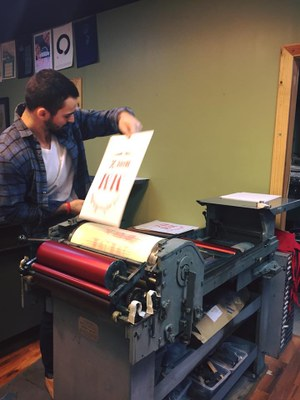 Letterpress Workshop 1