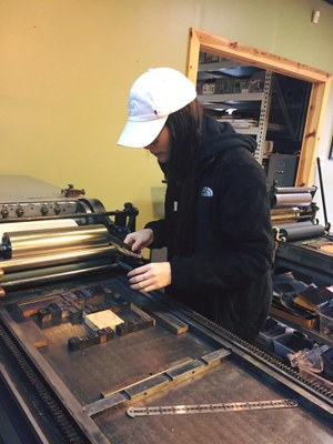 Letterpress Workshop 2